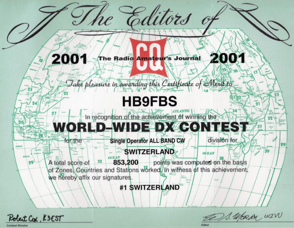 2001-cq-ww-dx-cw-contest